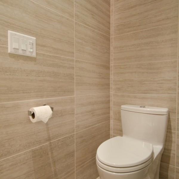 Pangaea Interior Design | Contemporary Master Bathroom with Vaulted ...
