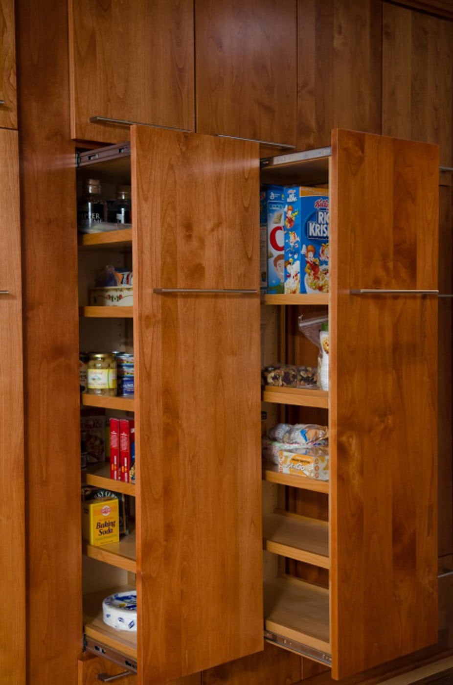 Pangaea Interior Design Custom Built Pull Out Pantry