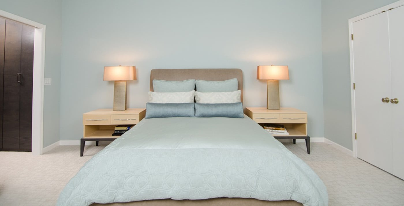 Pangaea Interior Design | Master Bedroom – Soothing Colors and Sleek ...