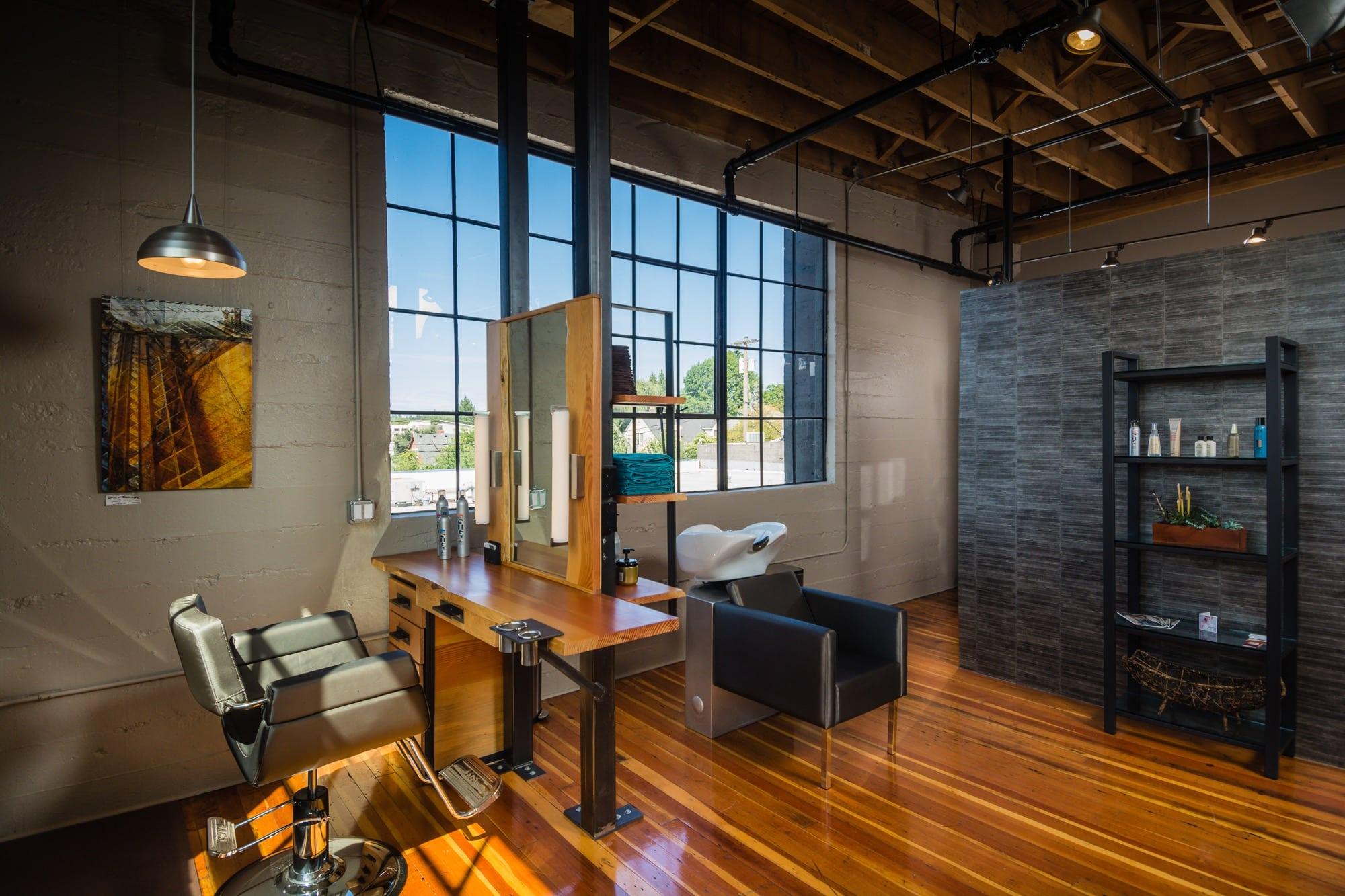Pangaea interior design portland interior design for Living room coiffeur