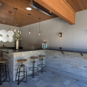 Barstools Around The L Shape Bar As Well As The Extended Bar Along The Side  For Those Who Prefer To Stand Create Lots Of Places To Hang Out And Enjoy  The ...