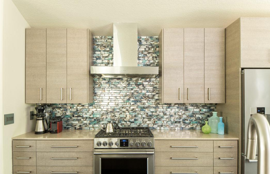 Sherwood Kitchen Turquoise Gl Backsplash