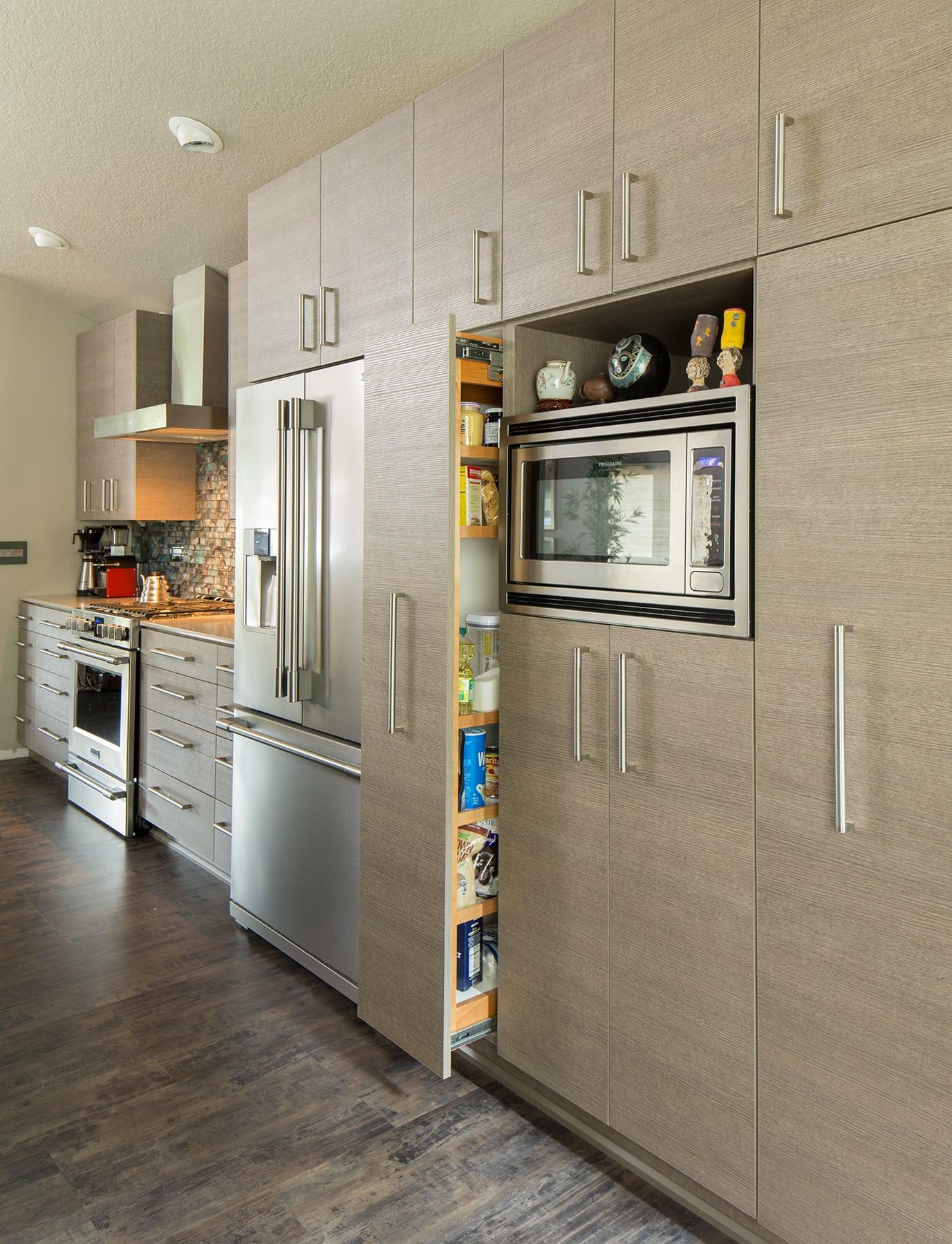 Sherwood Kitchen pantry area open